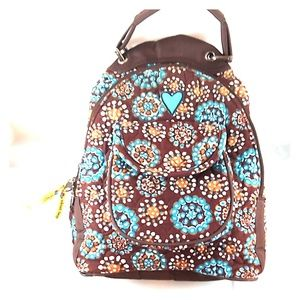 Girl's Quilted Backpack